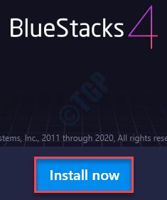 Instalar ahora Bluestacks Min