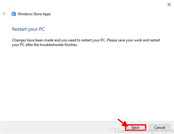 Reinicie su PC