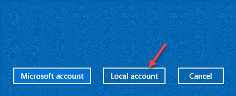 Agregar una cuenta local de usuario