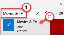 Min de búsqueda de películas y televisión