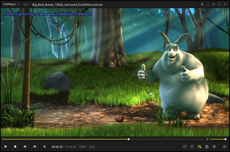 captura de pantalla de captura de potplayer