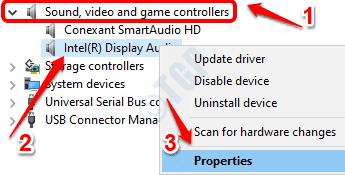 2 Propiedades del controlador de audio