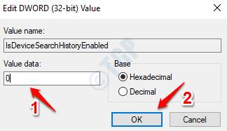 7 Editar el valor de Dword