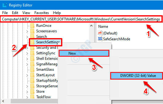 5 nuevos ajustes de búsqueda de Dword
