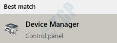 1 Menú Inicio Buscar Administrador de dispositivos
