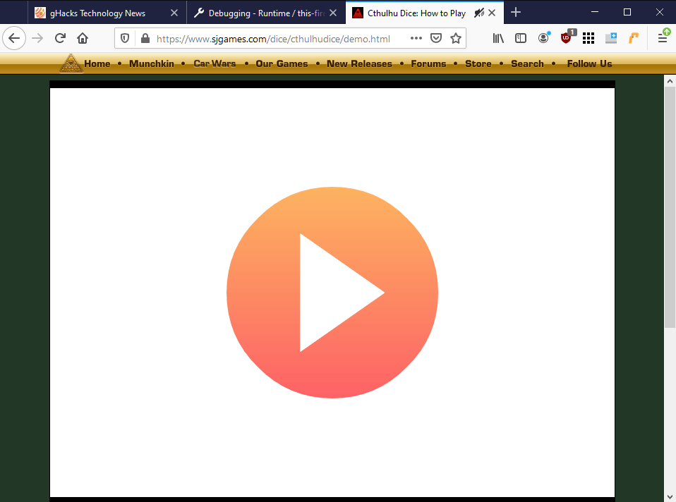 ruffle flash emulation browser