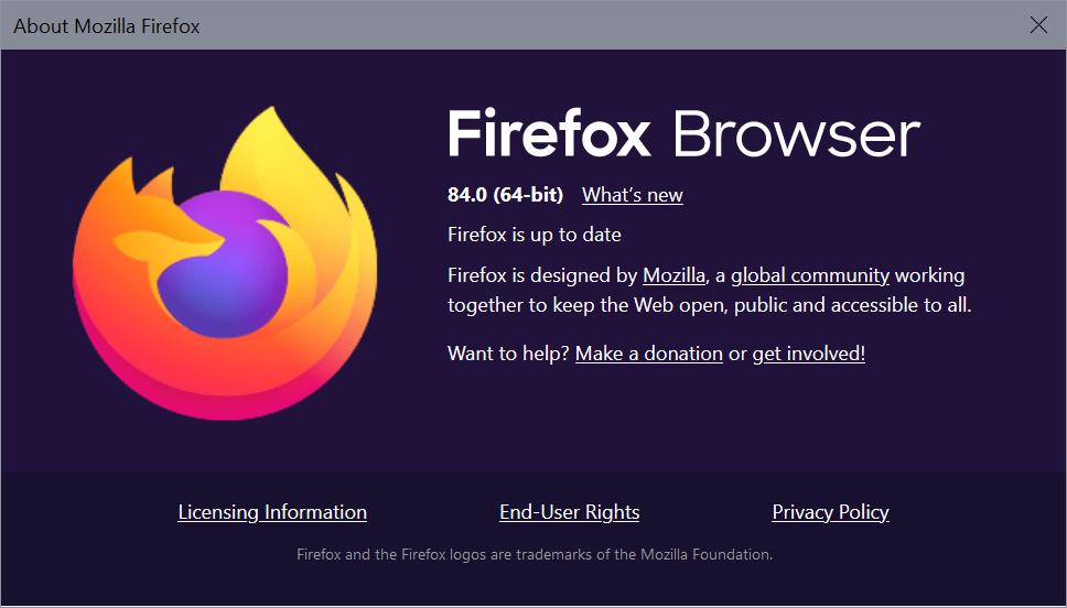 firefox 84.0 release