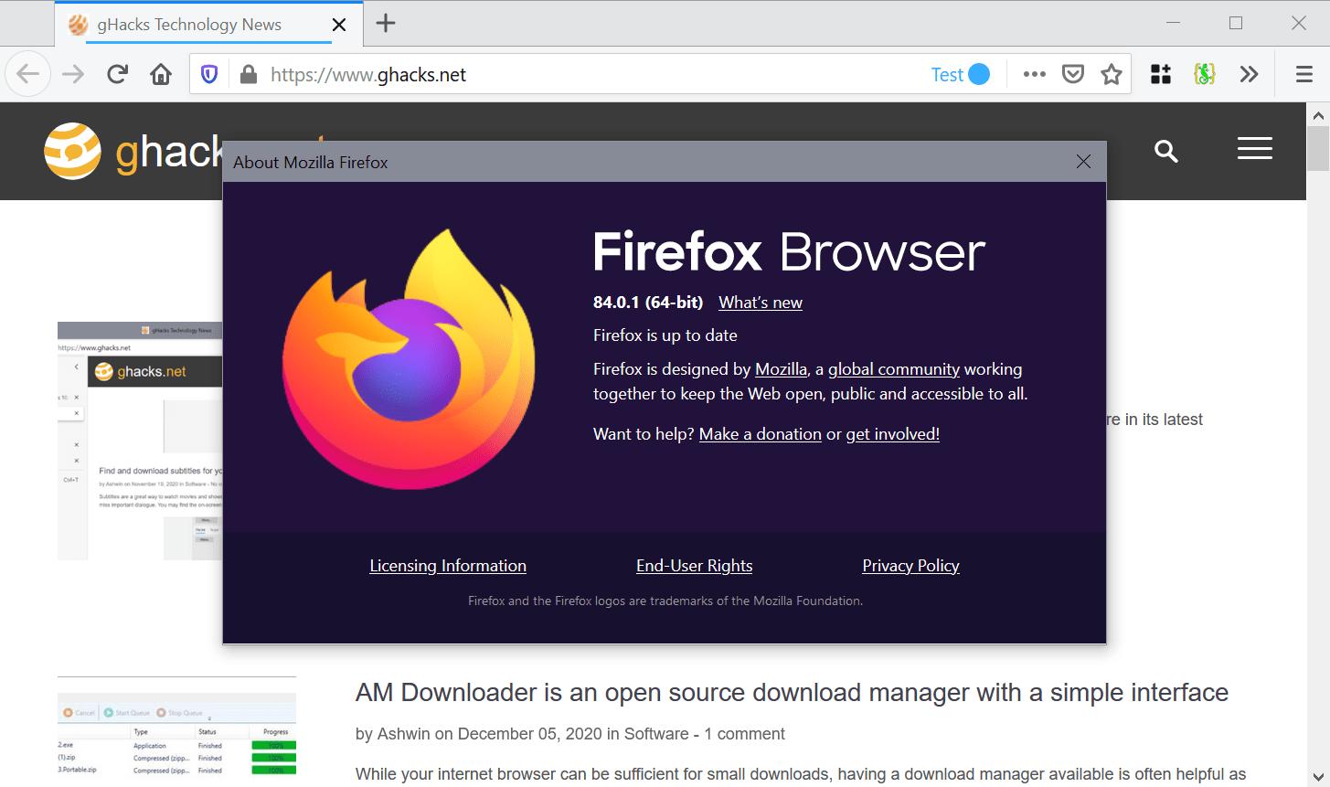 firefox 84.0.1