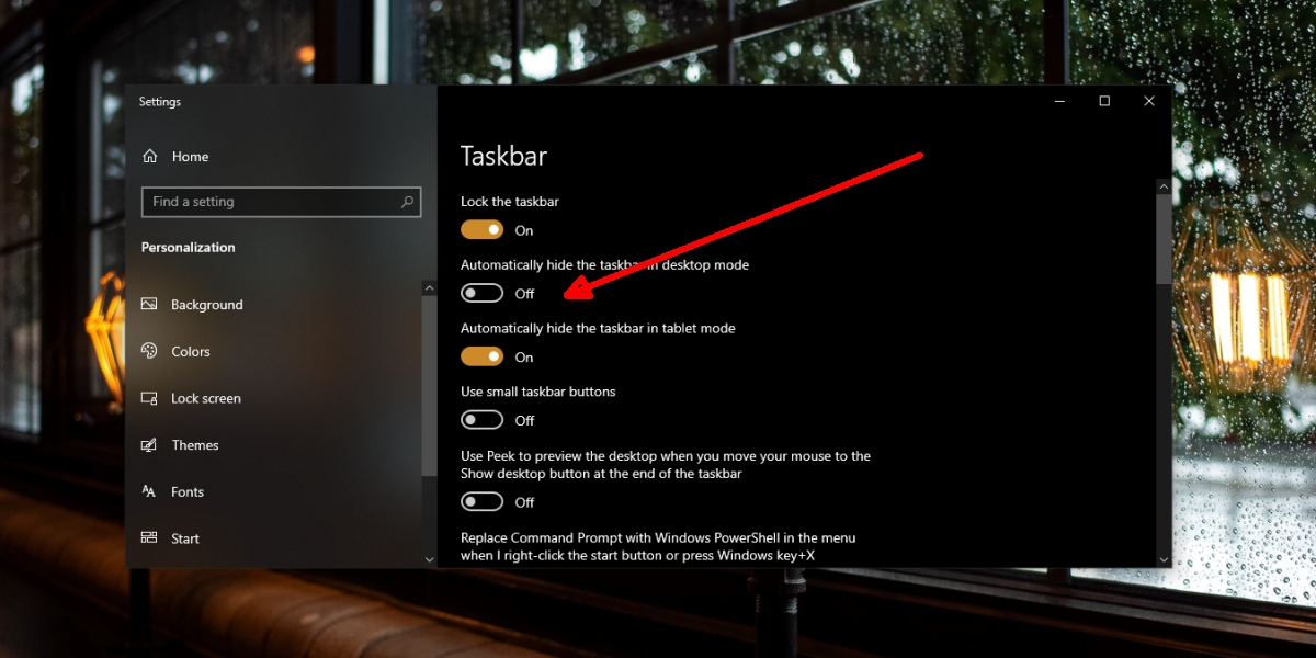 La barra de tareas no se oculta, cómo ocultar la barra de tareas