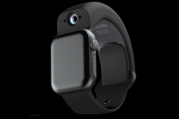 El nuevo accesorio agrega cámaras al Apple Watch para videoconferencias y más