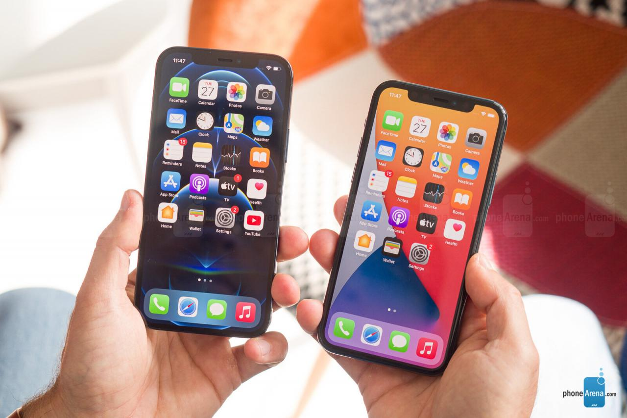 iPhone 12 Pro a la izquierda, iPhone 11 Pro a la derecha: por qué debería reconsiderar la compra de un iPhone 12