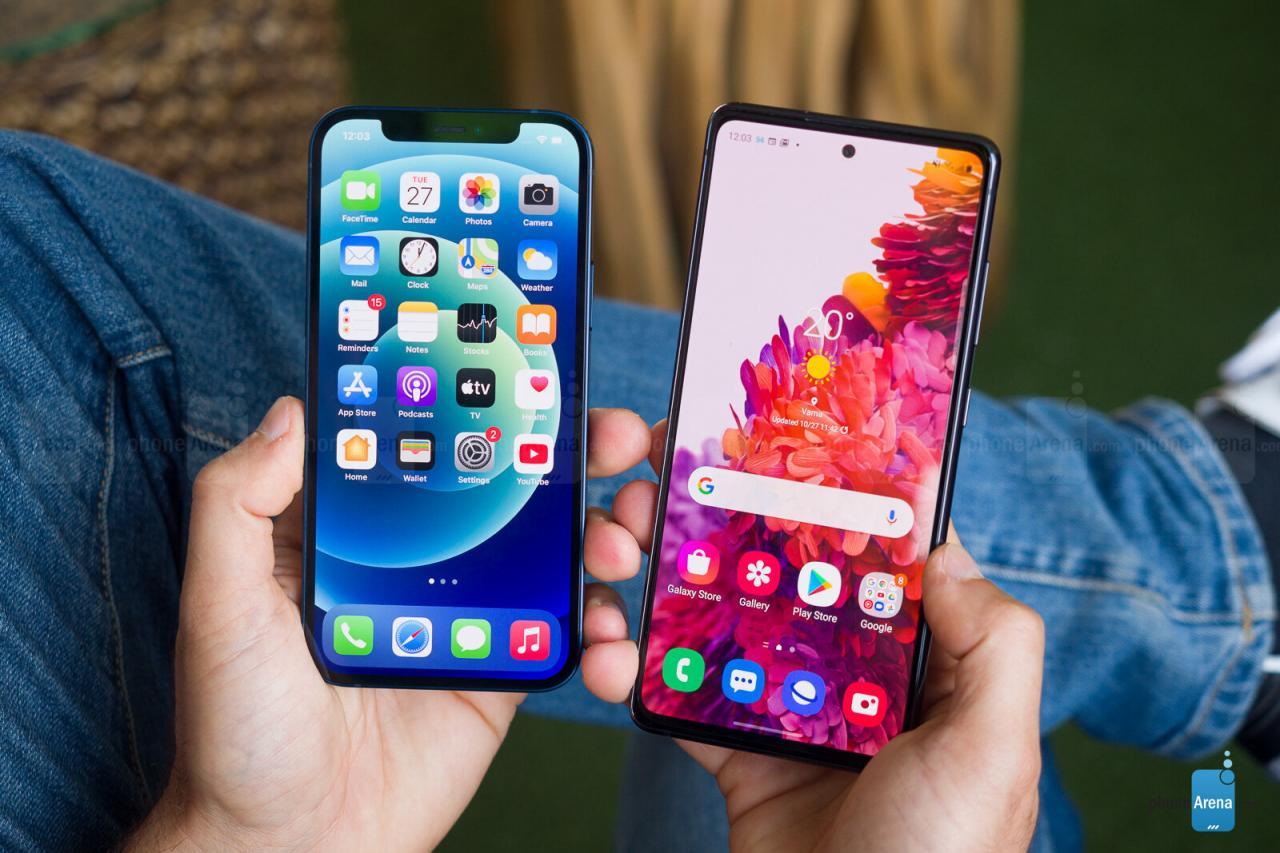 iPhone 12 vs Galaxy S20 FE - Por qué debería reconsiderar la compra de un iPhone 12