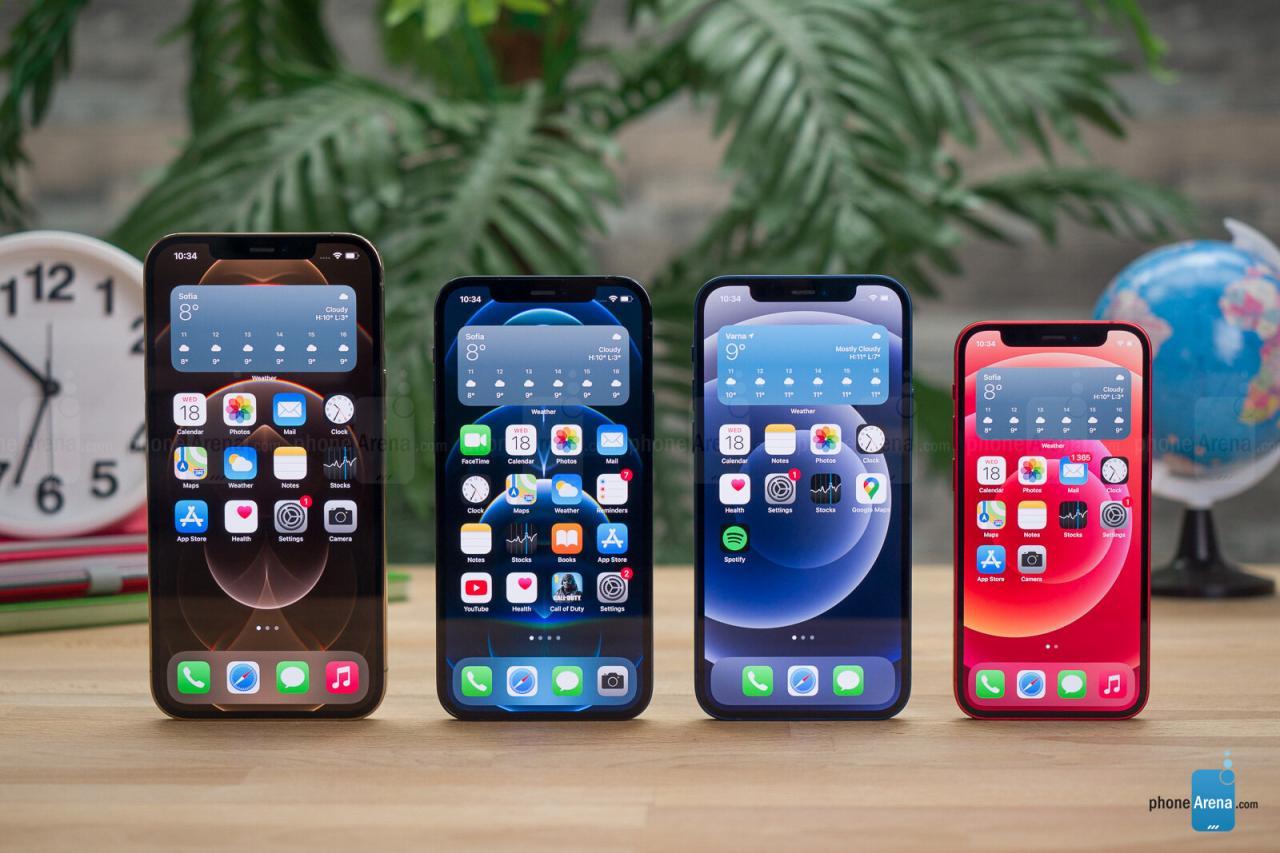 La familia iPhone 12: por qué debería reconsiderar la compra de un iPhone 12