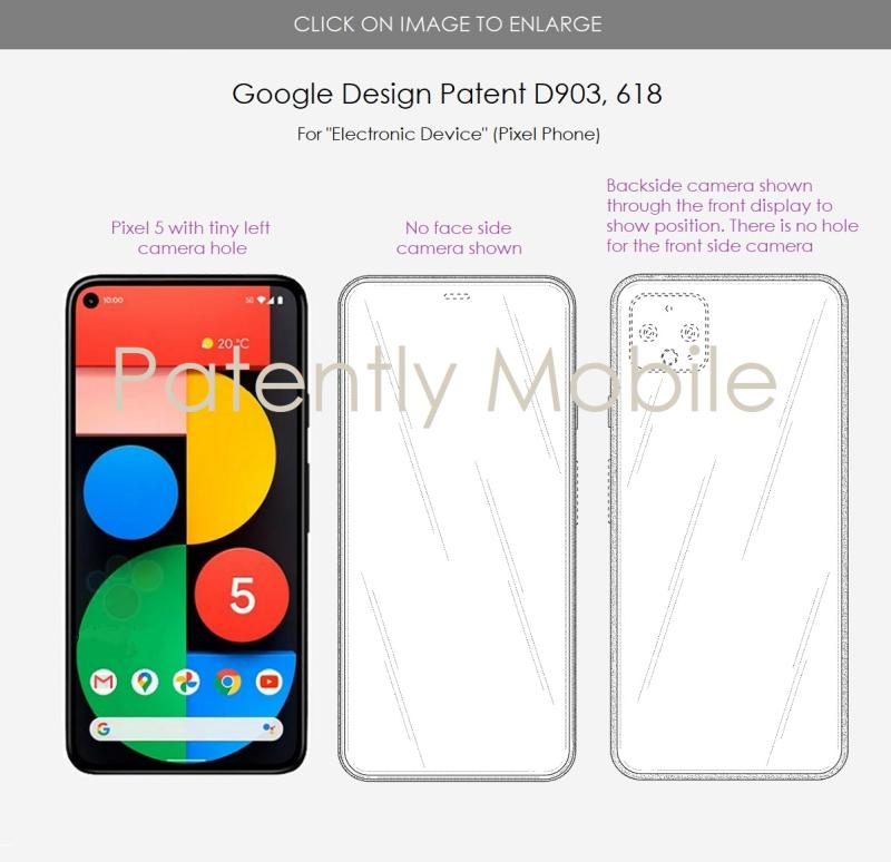 Es posible que Google esté trabajando en un teléfono Pixel con una cámara debajo de la pantalla