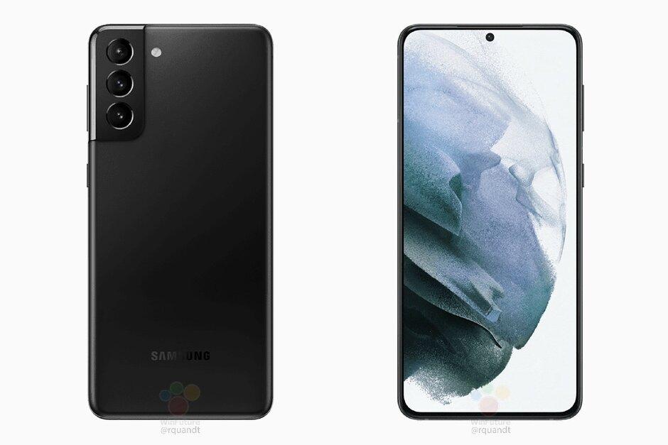 Samsung Galaxy S21 + - La última fuga del Galaxy S21 / + no deja nada a la imaginación