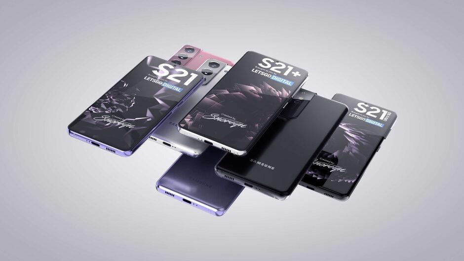 Render del concepto de la serie Samsung Galaxy S21 - Samsung adelanta planes para 2021: plegables más baratos, anuncio anticipado de S21, S Pen sin Note