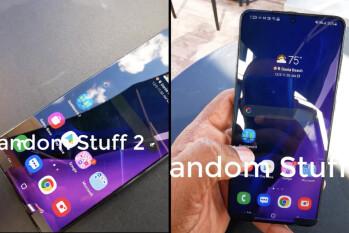 El 5G Galaxy S21 + de Samsung se ha visto en video por primera vez