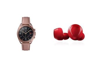Ahorre a lo grande antes de Navidad comprando Samsung Galaxy Watch 3 y Galaxy Buds + juntos