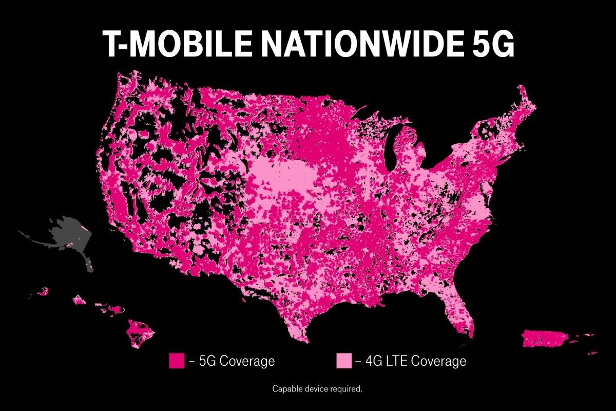 T-Mobile es declarado culpable (nuevamente) de exagerar su red 5G objetivamente impresionante