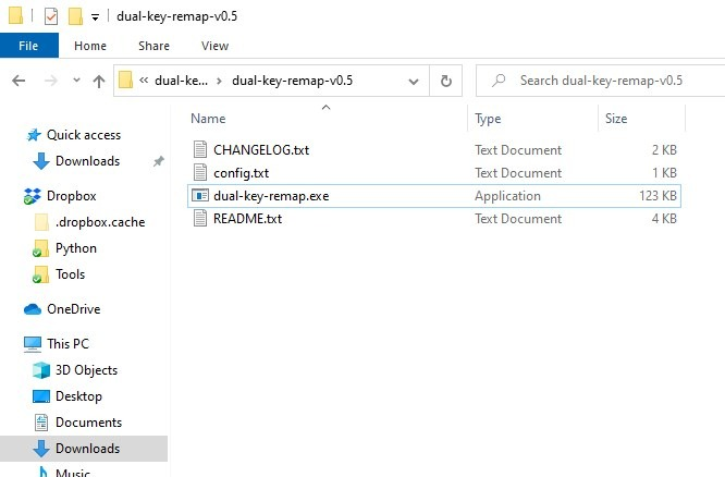 Rebind any key to a different one on your keyboard with minimal effort using Dual Key Remap