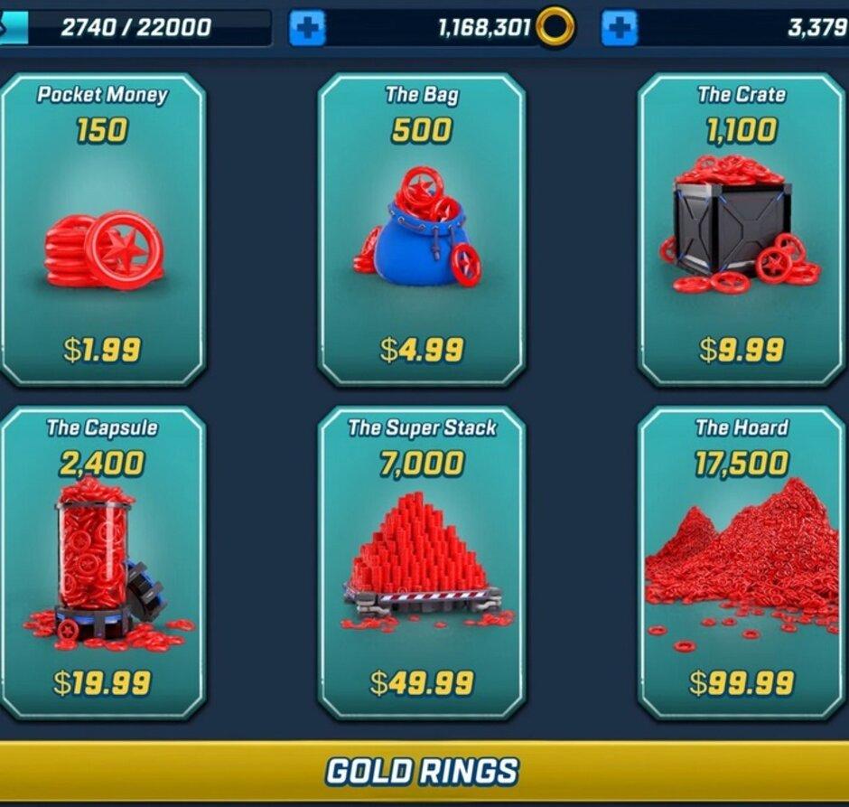 Un niño de seis años gastó más de $ 16,000 en Rings, incluidos Gold Rings, para un juego de iPad. Es posible que la familia deba cancelar la Navidad después de que su hijo gaste más de $ 16,000 en la App Store