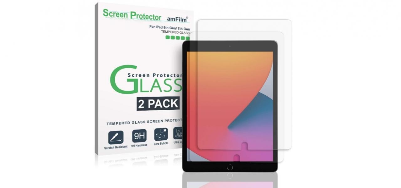 Los mejores protectores de pantalla Apple iPad 8