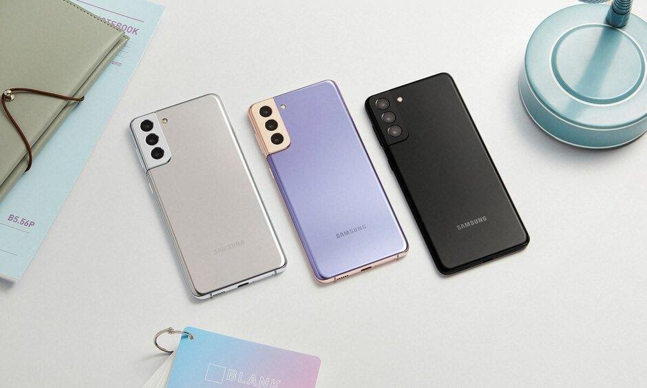 Opciones de color del Galaxy S21 + - Samsung Galaxy S21 Plus vs Galaxy S20 Plus