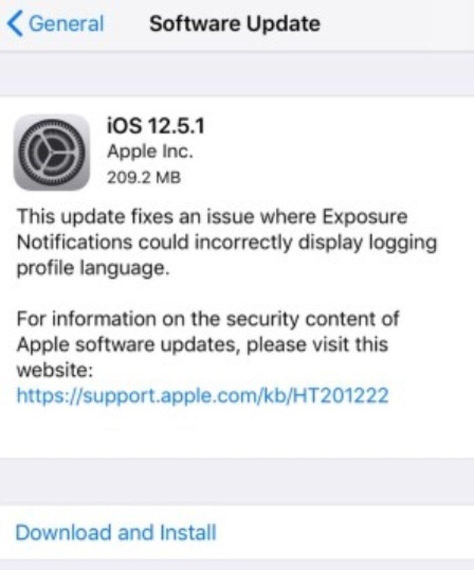 pple lanza iOS 12.5.1 para modelos de iPhone más antiguos - Apple difunde iOS 12.5.1; ¿Para qué modelos de iPhone es y para qué sirve?