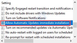 Permitir actualizaciones automáticas