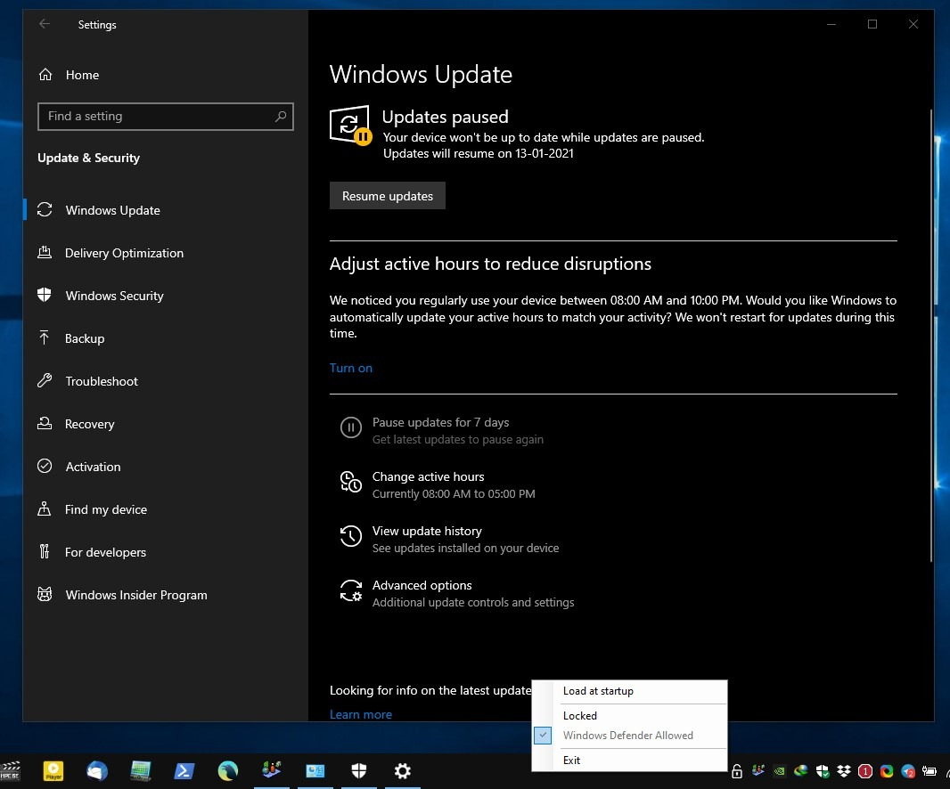 Kill-Update Actualización de Windows desbloqueada