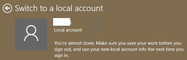 11 Último paso de la cuenta local