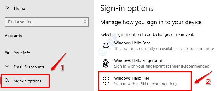 23 Pin de Windows Hello