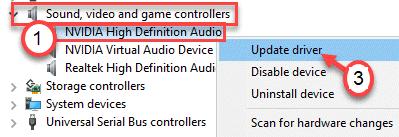Actualización de audio Nvidia Hd Min