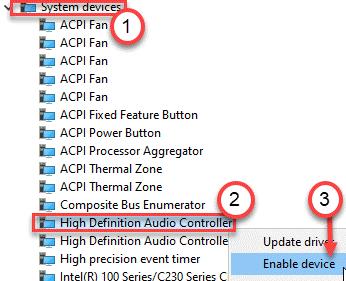 Controlador de alta definición habilitado Mín.