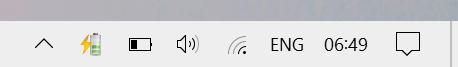 nuevo icono de batería windows