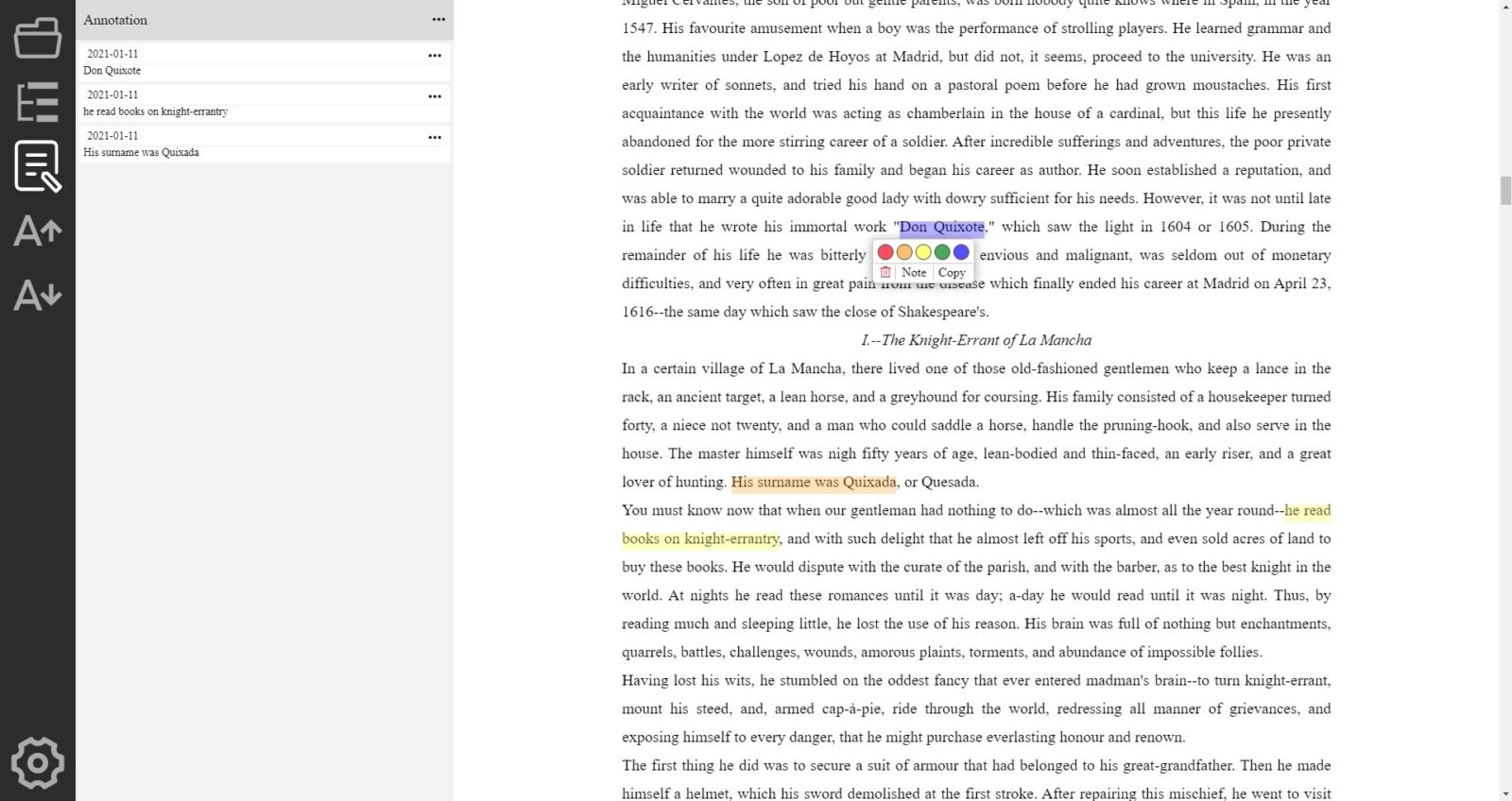 Eve Reader is an open source EPUB reader for Windows and Linux