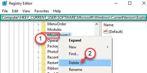 Mountpoints2 Reg Delete Min