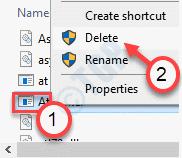 Eliminar archivo mínimo