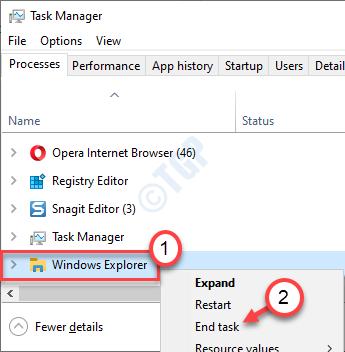 Tarea final del Explorador de Windows