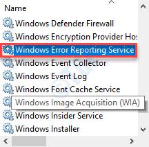 Informe de error de Windows Dc Min Min Min