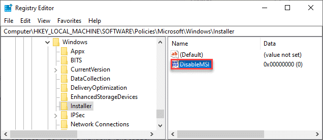 Desactivar Msi Dc Min