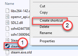 Steam Create Shortcut Min