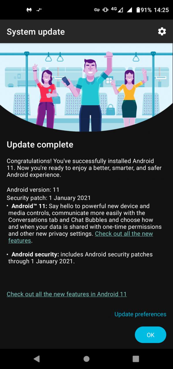 Actualización de Moto G Pro Android 11: el lanzamiento de Android 11 de Motorola finalmente comienza con un