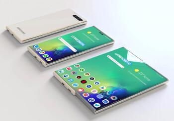 ¿Podríamos ver una línea Galaxy Roll o Slide este año? Consejos sobre la pantalla Samsung, así que ...