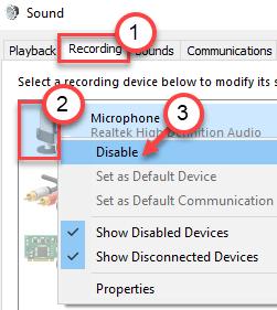 Micrófono Desactivar Mín.