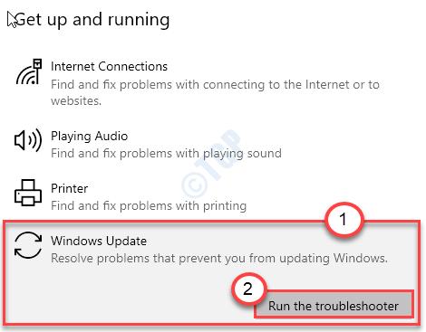 Solucionador de problemas de Windows Update New Min