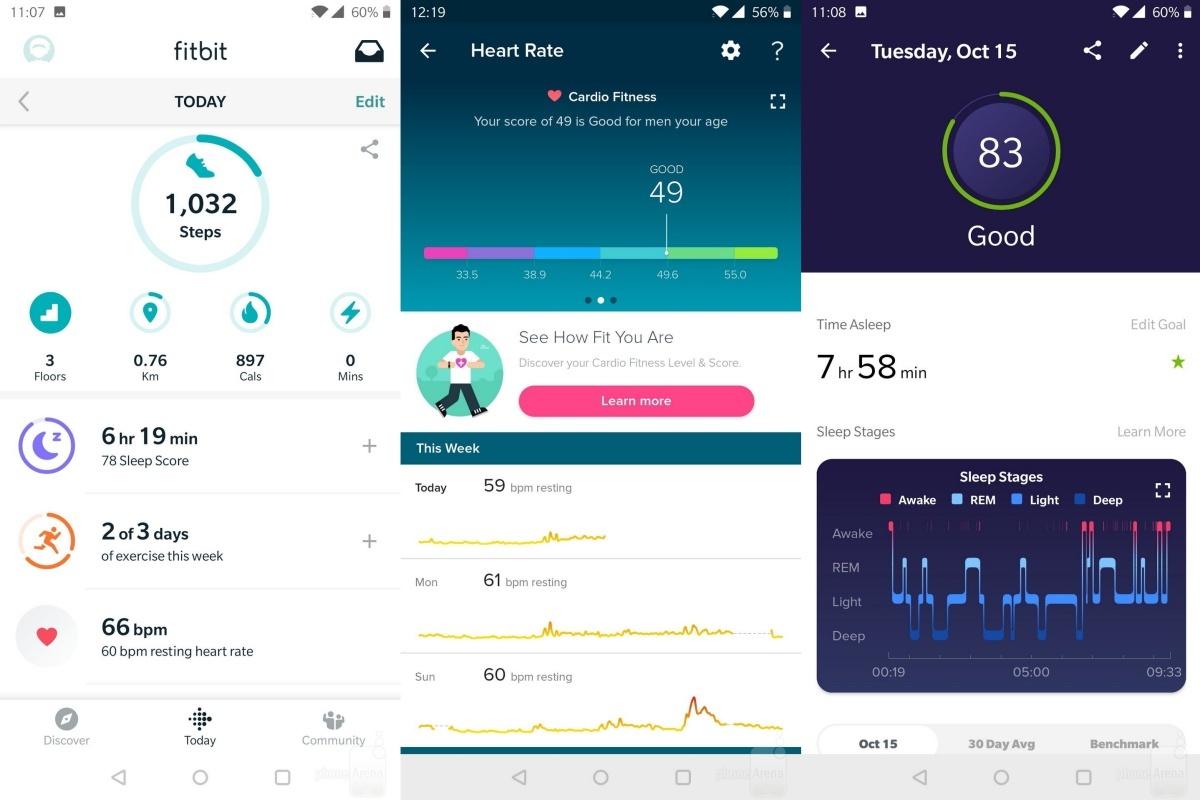 Datos de salud recopilados en un Fitbit Versa 2: Google cierra la adquisición de Fitbit y promete crear 'nuevos dispositivos' juntos