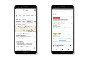 Google anuncia cambios relacionados con COVID-19 en las aplicaciones de Maps y Search
