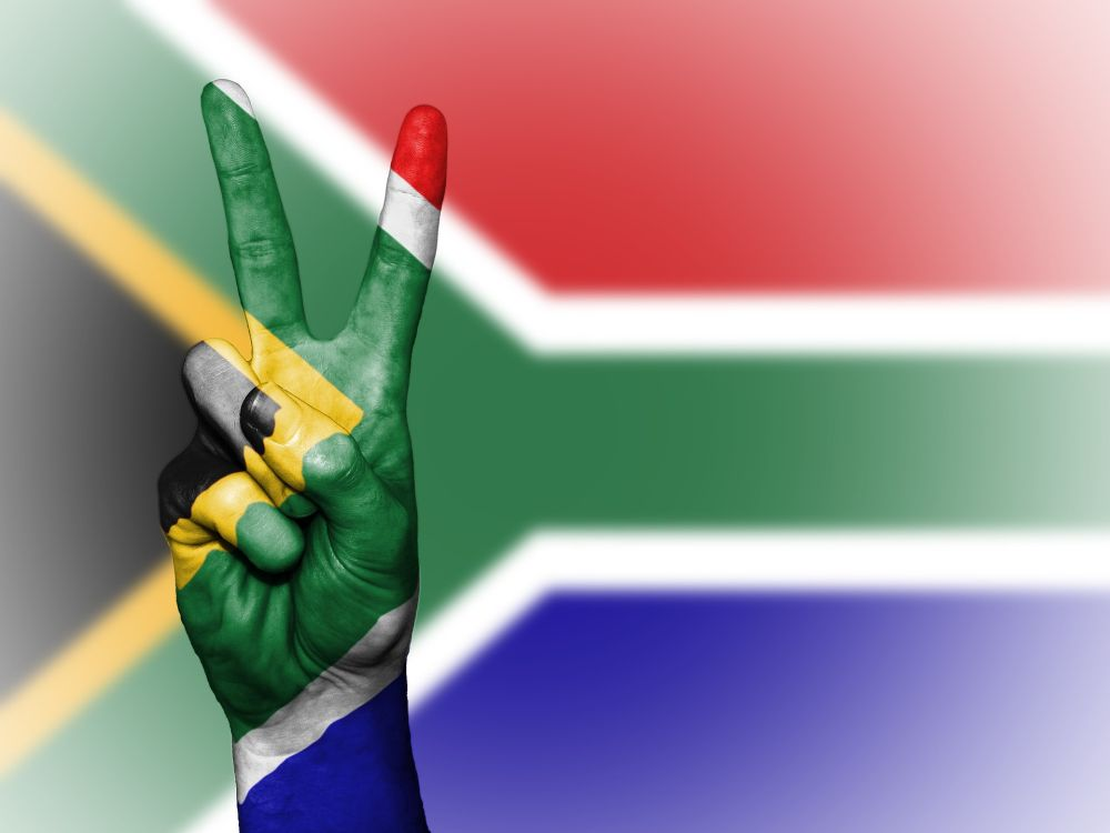 Best VPN for South Africa 1 - Peace flag