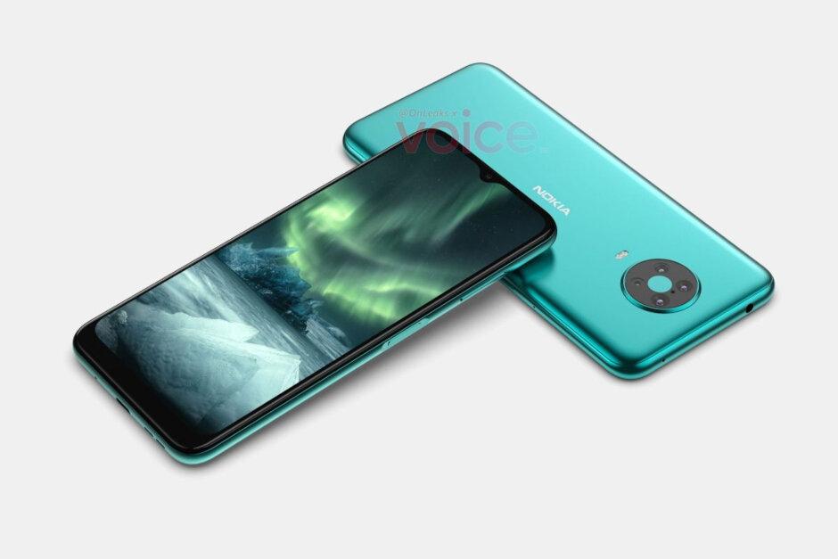 Los renders de prensa filtrados de Nokia 6.4 apuntan a otro elegante teléfono de gama media